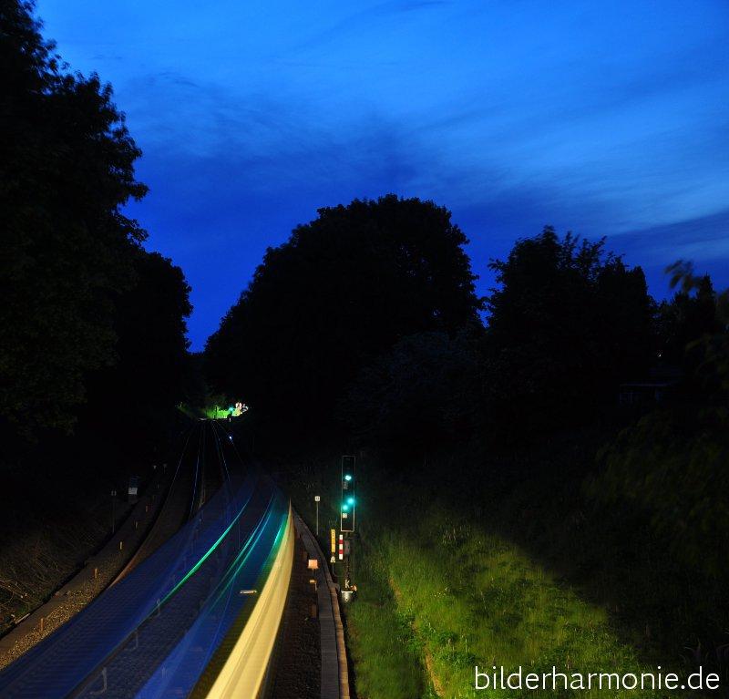 Lichter und Bewegung